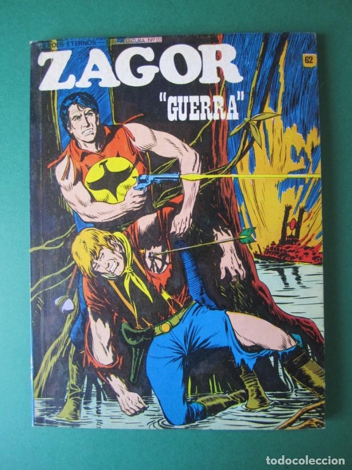 ZAGOR (1971, BURU LAN) 62 · 15-XII-1973 · GUERRA (Tebeos y Comics - Buru-Lan - Zagor)