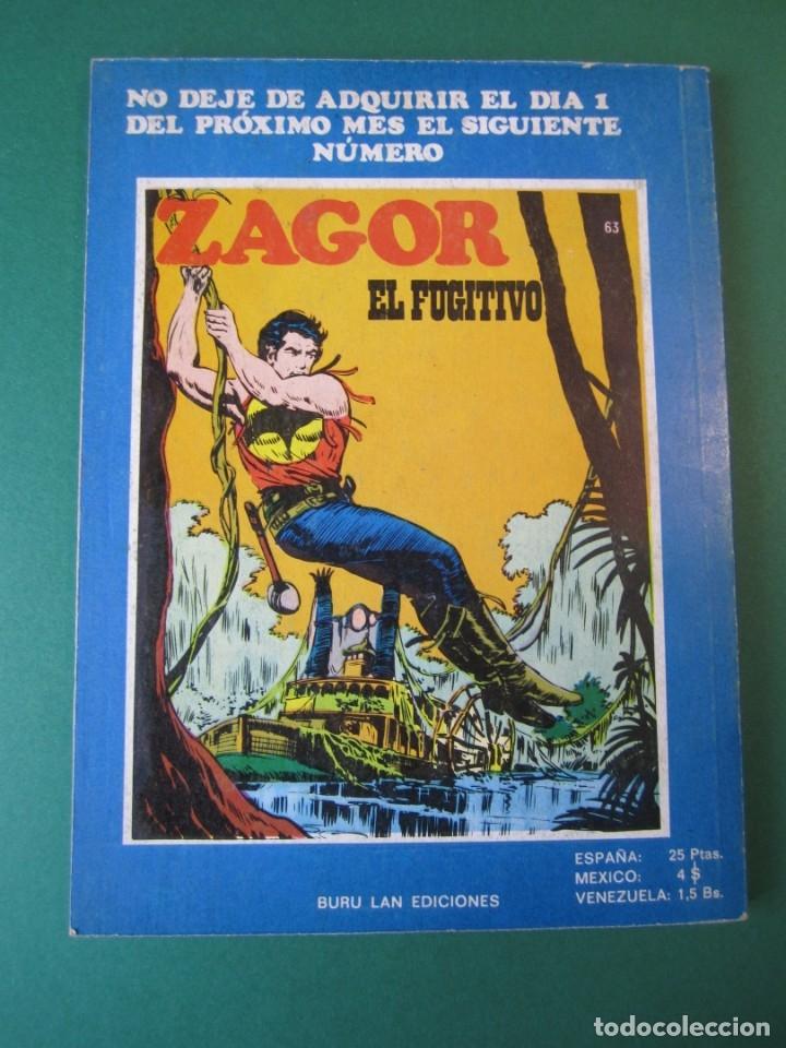 Cómics: ZAGOR (1971, BURU LAN) 62 · 15-XII-1973 · GUERRA - Foto 2 - 175077372