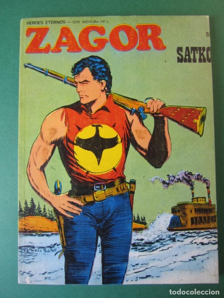 ZAGOR (1971, BURU LAN) 55 · 1-IX-1973 · SATKO (Tebeos y Comics - Buru-Lan - Zagor)