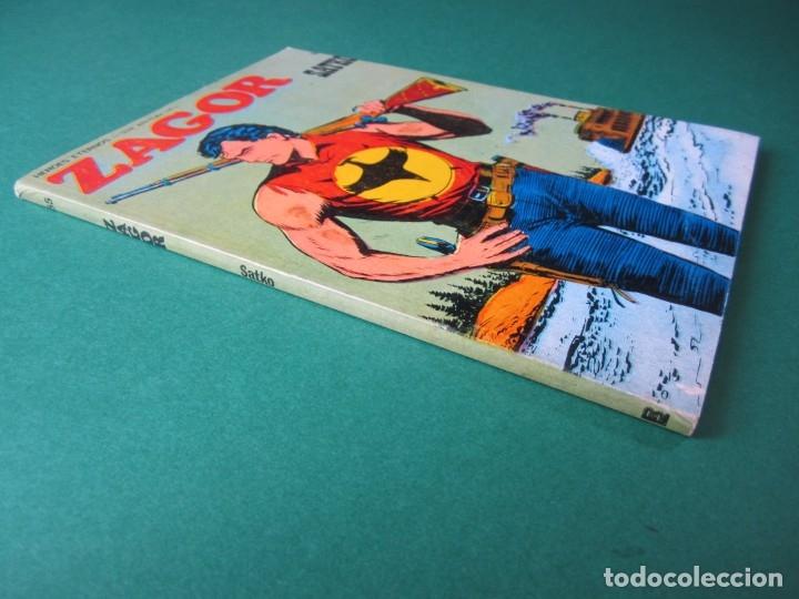 Cómics: ZAGOR (1971, BURU LAN) 55 · 1-IX-1973 · SATKO - Foto 3 - 175077397