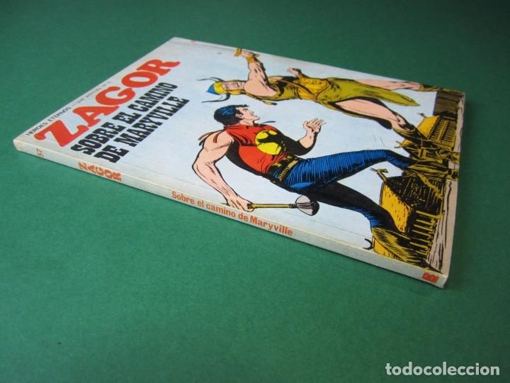 Cómics: ZAGOR (1971, BURU LAN) 57 · 1-X-1973 · SOBRE EL CAMINO DE MARYVILLE - Foto 3 - 175085514