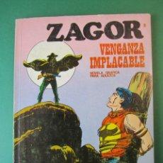 Comics : ZAGOR (1971, BURU LAN) 8 · 15-IX-1971 · VENGANZA IMPLACABLE. Lote 175086615