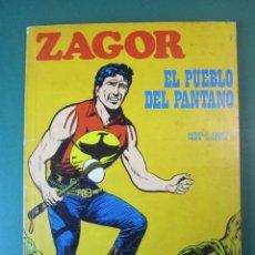 Comics : ZAGOR (1971, BURU LAN) 7 · 1-IX-1971 · EL PUEBLO DEL PANTANO. Lote 175089439