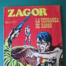Cómics: ZAGOR (1971, BURU LAN) 11 · 1-XI-1971 · LA VENGANZA DE ZAGOR. Lote 230732005