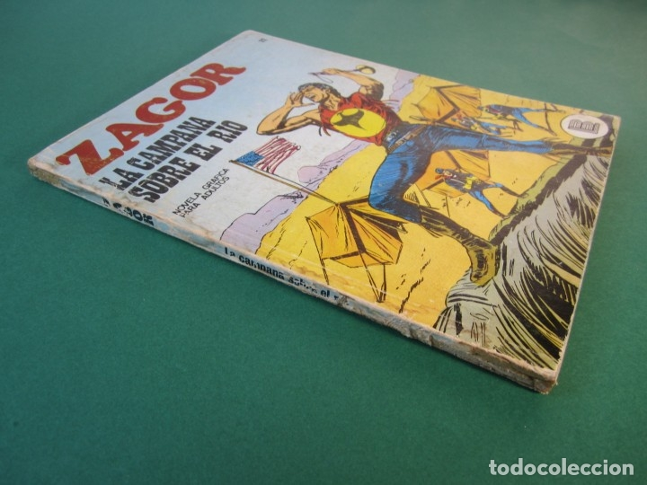 Cómics: ZAGOR (1971, BURU LAN) 22 · 15-IV-1972 · LA CAMPANA SOBRE EL RIO - Foto 3 - 175338295