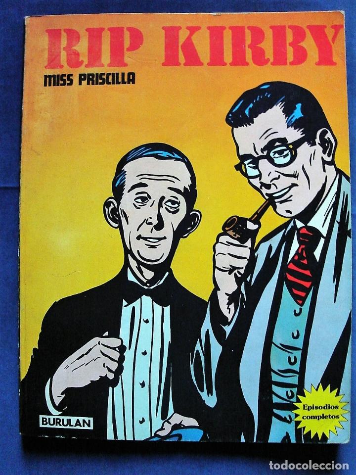 RIP KIRBY. MISS PRISCILLA. EPISODIOS COMPLETOS. BURULAN, S.A. EDICIONES (Tebeos y Comics - Buru-Lan - Rip Kirby)