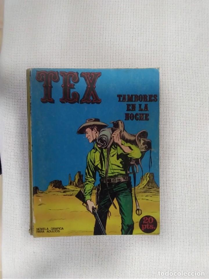 TEX - TAMBORES EN LA NOCHE - NÚM. 4 - BURU LAN EDICIONES (Tebeos y Comics - Buru-Lan - Tex)