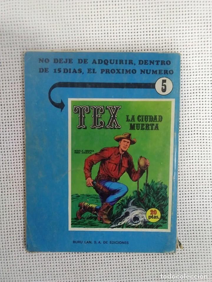 Cómics: TEX - TAMBORES EN LA NOCHE - NÚM. 4 - BURU LAN EDICIONES - Foto 3 - 175758424