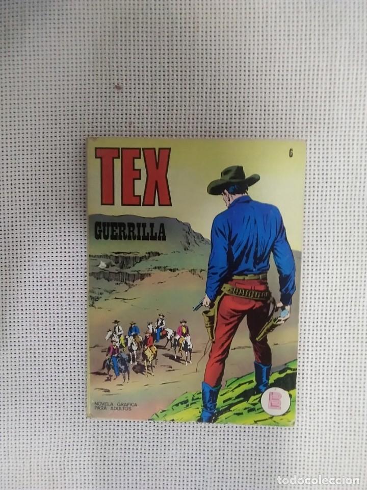 TEX - GUERRILA - NÚM. 6 - BURU LAN EDICIONES (Tebeos y Comics - Buru-Lan - Tex)