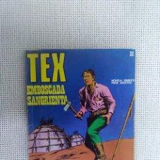 Cómics: TEX - EMBOSCADA SANGRIENTA - NÚM. 22 - BURU LAN EDICIONES. Lote 175762910