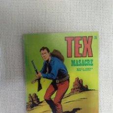 Cómics: TEX - MASACRE - NÚM. 24 - BURU LAN EDICIONES. Lote 175763035