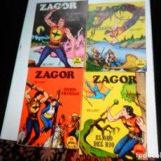 Comics : ZAGOR NºS 1, 2, 3 Y 4. BURU LAN 1971. COMO NUEVOS. PORTES GRATIS,. Lote 175983919