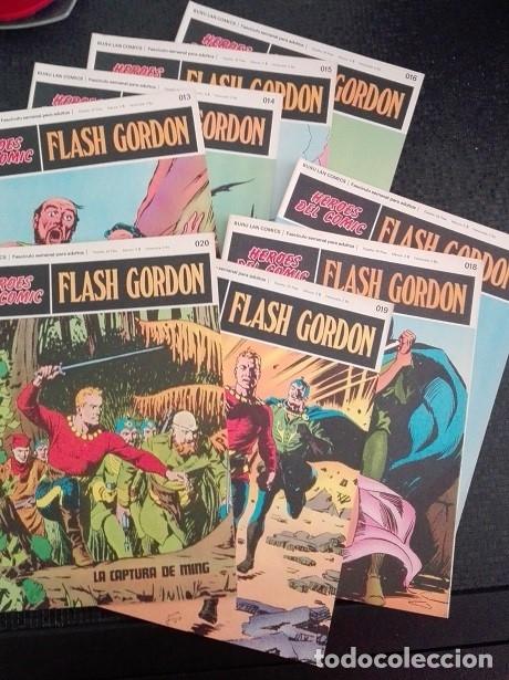 FLASH GORDON BURU LAN - 013 A 020 HEROES DEL COMIC (Tebeos y Comics - Buru-Lan - Flash Gordon)