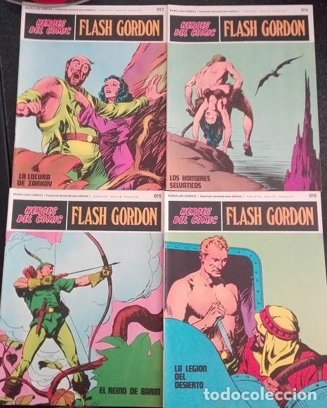 Cómics: FLASH GORDON Buru Lan - 013 a 020 Heroes del Comic - Foto 2 - 176055399