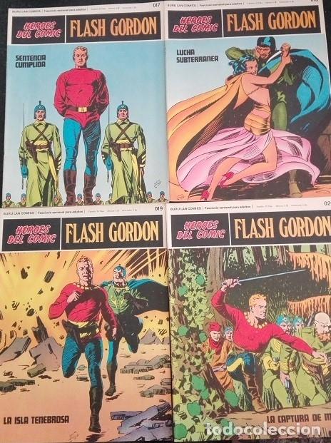 Cómics: FLASH GORDON Buru Lan - 013 a 020 Heroes del Comic - Foto 3 - 176055399