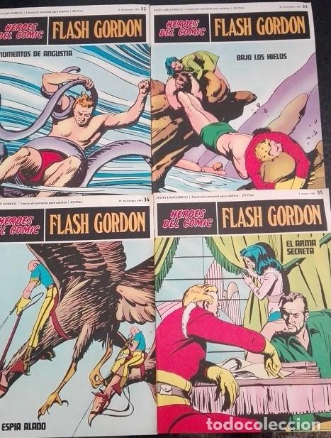 FLASH GORDON BURU LAN NºS 32 AL 35 (Tebeos y Comics - Buru-Lan - Flash Gordon)