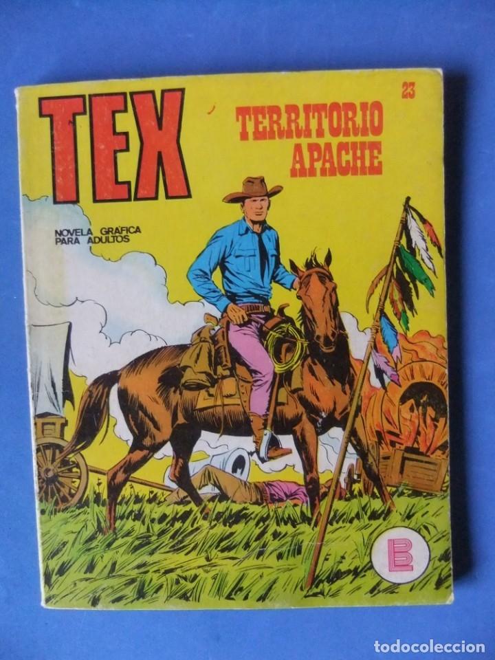 TEX Nº 23 TERRITORIO APACHE BURULAN (Tebeos y Comics - Buru-Lan - Tex)