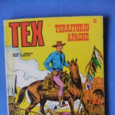 Cómics: TEX Nº 23 TERRITORIO APACHE BURULAN. Lote 176204547