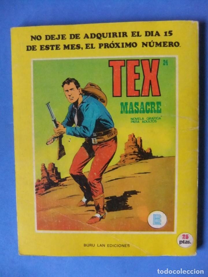 Cómics: TEX Nº 23 TERRITORIO APACHE BURULAN - Foto 2 - 176204547