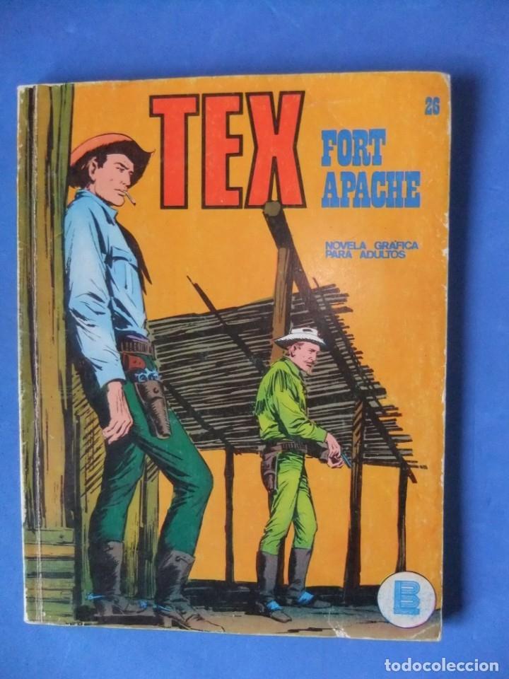 TEX Nº 26 FORT APACHE BURULAN (Tebeos y Comics - Buru-Lan - Tex)