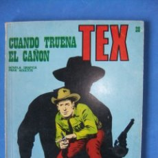 Cómics: TEX Nº 28 CUANDO TRUENA EL CAÑON BURULAN. Lote 176204809