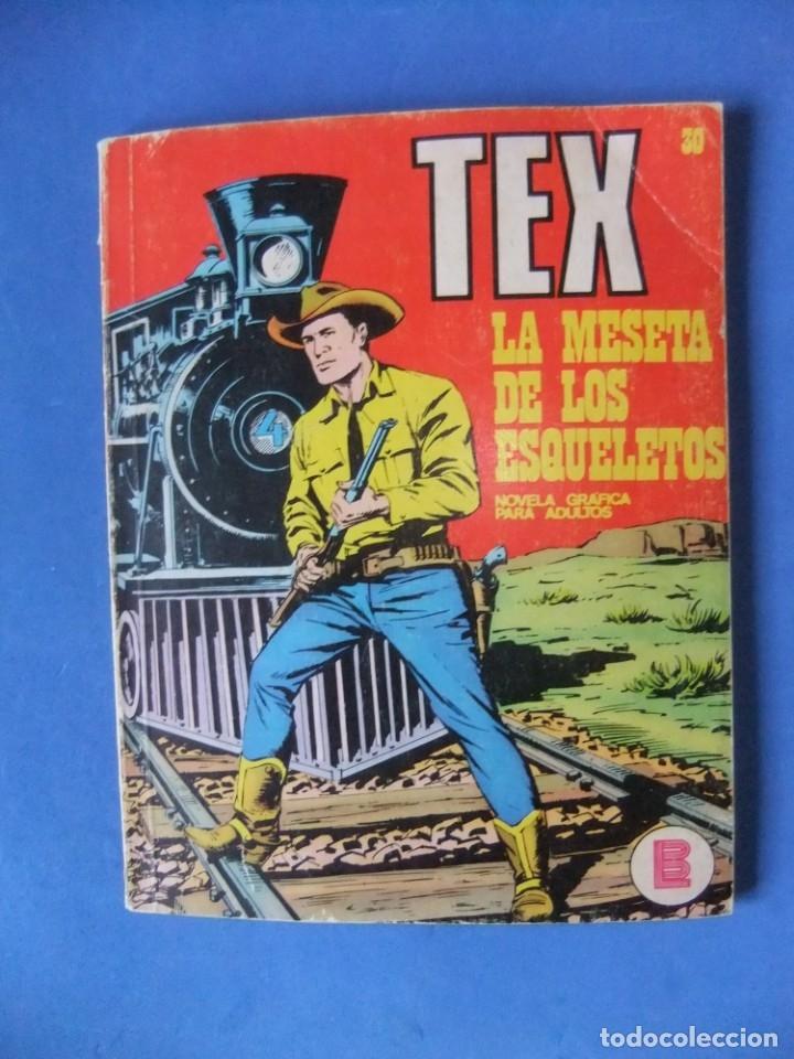 TEX Nº 30 LA MESETA DE LOS ESQUELETOS BURULAN (Tebeos y Comics - Buru-Lan - Tex)