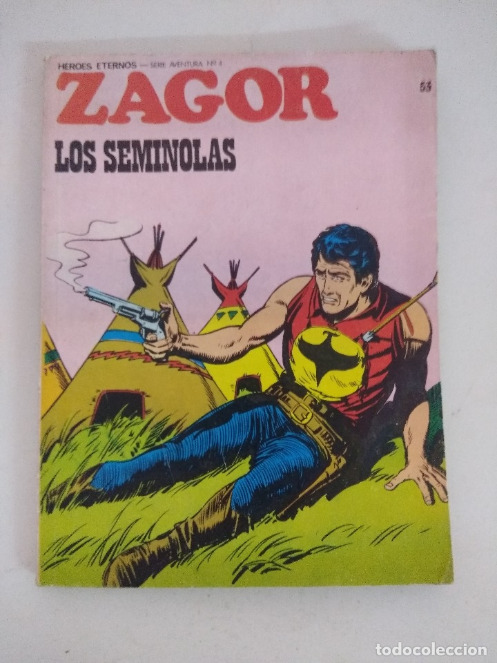 ZAGOR Nº53/BURU LAN. (Tebeos y Comics - Buru-Lan - Zagor)