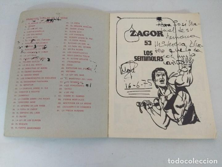 Cómics: ZAGOR Nº53/BURU LAN. - Foto 2 - 176283842