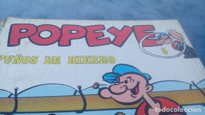 Cómics: POPEYE - PUÑOS DE HIERRO - NUMERO 5 - EDITORIAL BURU LAN AÑO 1970 - Foto 2 - 176415563