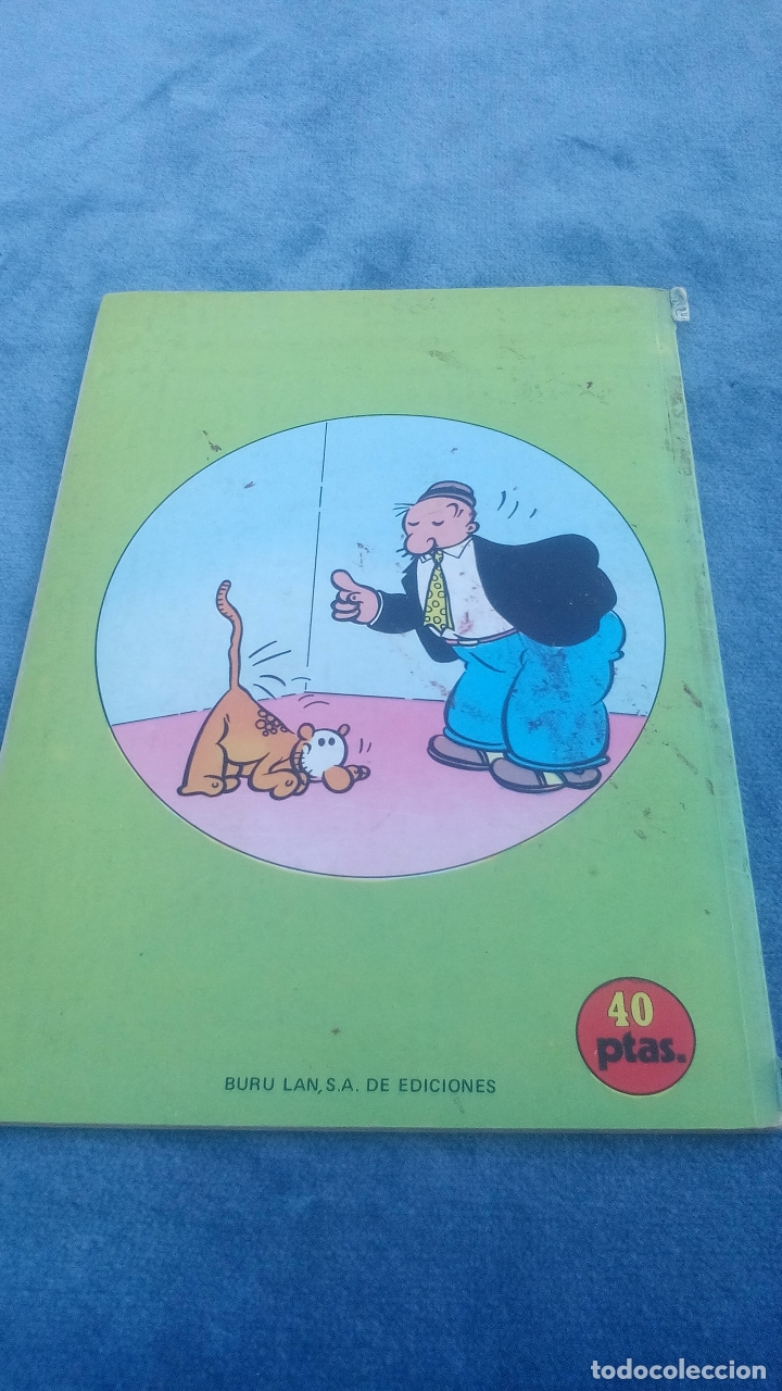 Cómics: POPEYE - PUÑOS DE HIERRO - NUMERO 5 - EDITORIAL BURU LAN AÑO 1970 - Foto 7 - 176415563