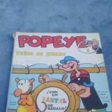 Cómics: POPEYE - PUÑOS DE HIERRO - NUMERO 5 - EDITORIAL BURU LAN AÑO 1970. Lote 176415563