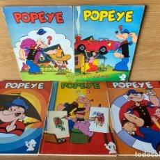 Cómics: POPEYE EL MARINO, 5 EJEMPLARES, EDICIONES MAISAL 1976. Lote 176683695