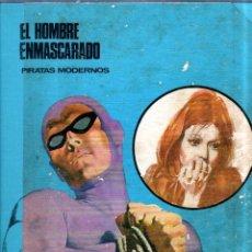 Cómics: EL HOMBRE ENMASCARADO. PIRATAS MODERNOS. TOMO 7. BURU LAN EDICIONES. 9 EPISODIOS. 1973.. Lote 176732664