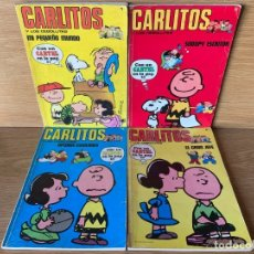 Cómics: CARLITOS Y LOS CEBOLLITAS - LOTE DE 20 TOMOS. Lote 204630580