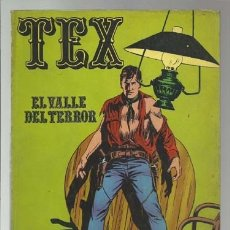 Cómics: TEX NÚMERO 1, PRIMERA EDICIÓN, 1970, BURU LAN, BUEN ESTADO. Lote 176960567