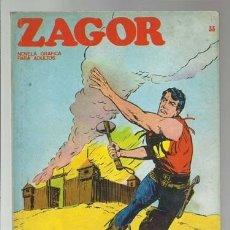 Cómics: ZAGOR 33: EL FUERTE ABANDONADO, 1972, BURU LAN, BUEN ESTADO. Lote 176960913