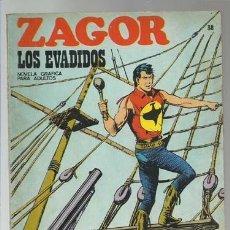 Cómics: ZAGOR 38: LOS EVADIDOS, 1972, BURU LAN, BUEN ESTADO. Lote 176961388