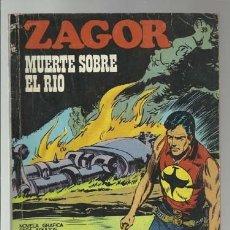 Cómics: ZAGOR 39: MUERTE SOBRE EL RIO, 1972, BURU LAN, BUEN ESTADO. Lote 176961485