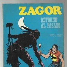 Cómics: ZAGOR 9: RETORNO AL PASADO, 1971, BURU LAN, BUEN ESTADO. Lote 176962139