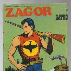 Cómics: ZAGOR 55: SATKO, 1973, BURU LAN, BUEN ESTADO. Lote 176962593