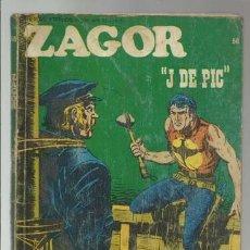 Cómics: ZAGOR 56: J DE PIC, 1973, BURU LAN, USADO.. Lote 176962729