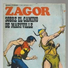 Cómics: ZAGOR 57: SOBRE EL CAMINO DE MARYVILLE, 1973, BURU LAN, BUEN ESTADO. Lote 176962900