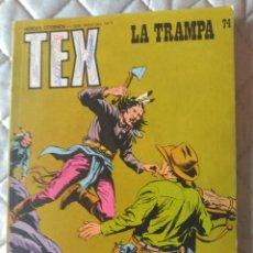 Cómics: TEX BURULAN Nº 74. Lote 176995210