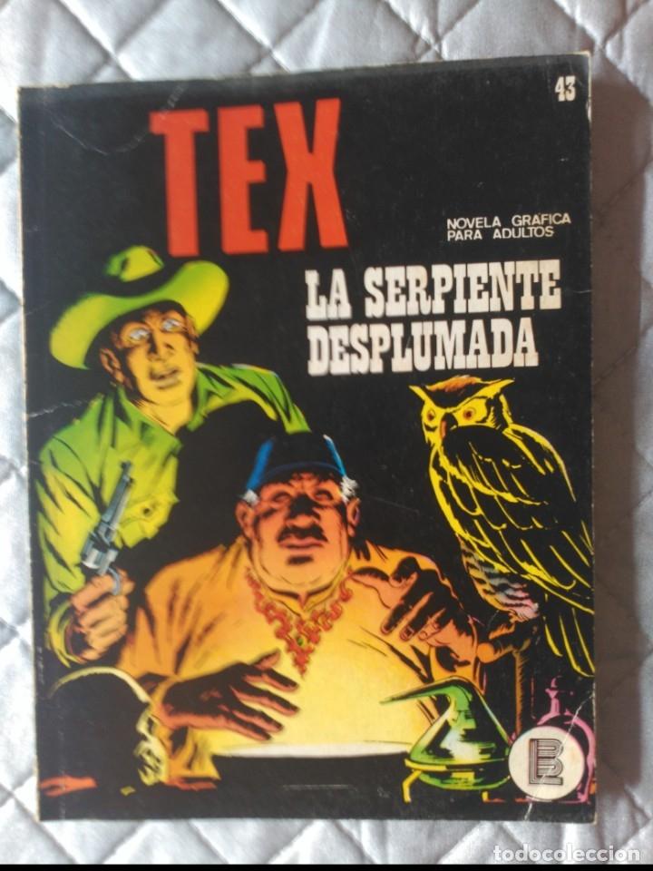 TEX BURULAN Nº 43 (Tebeos y Comics - Buru-Lan - Tex)