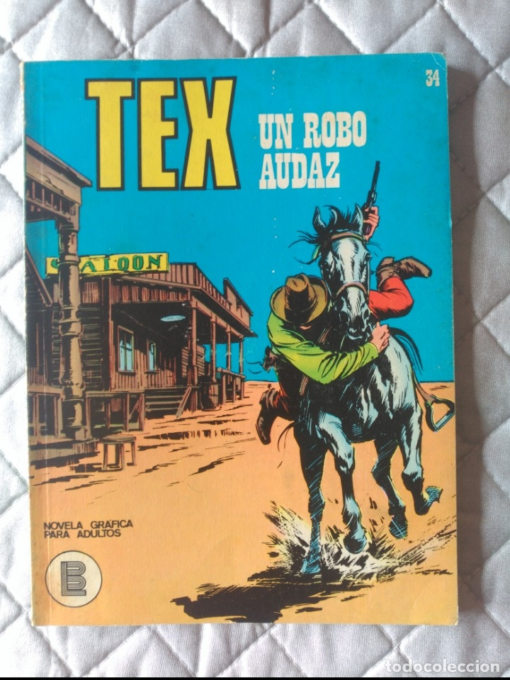 TEX BURULAN Nº 34 (Tebeos y Comics - Buru-Lan - Tex)