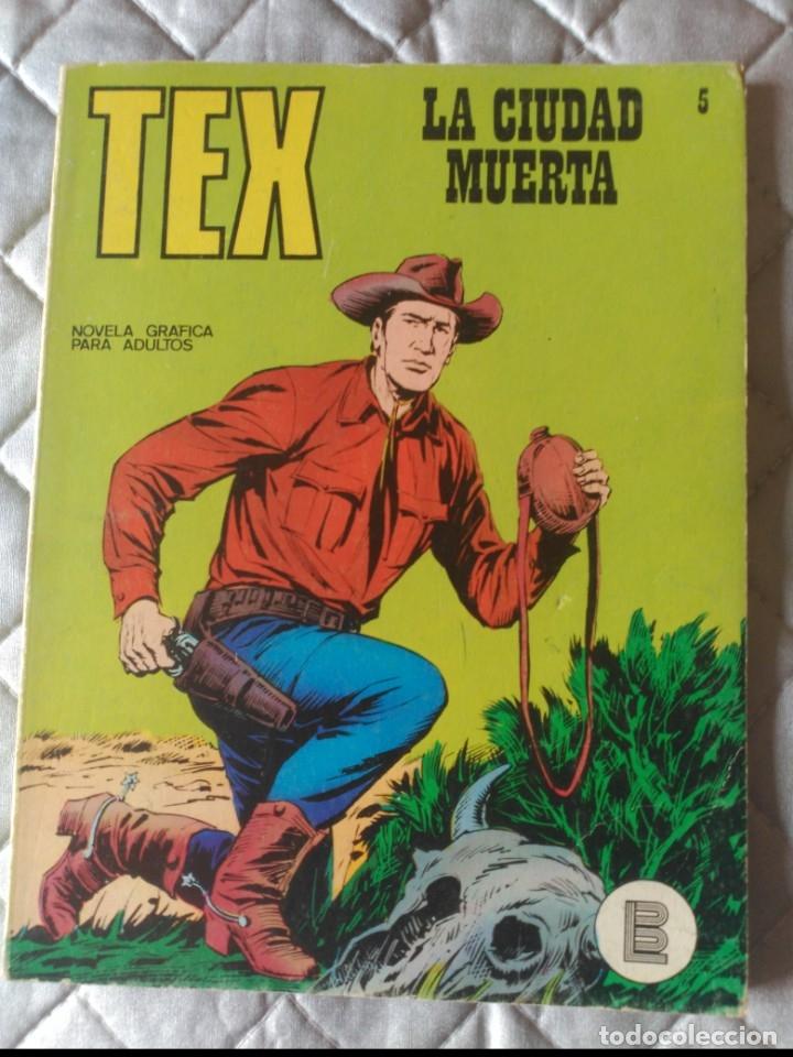 TEX BURULAN Nº 5 MUY DIFÍCIL (Tebeos y Comics - Buru-Lan - Tex)