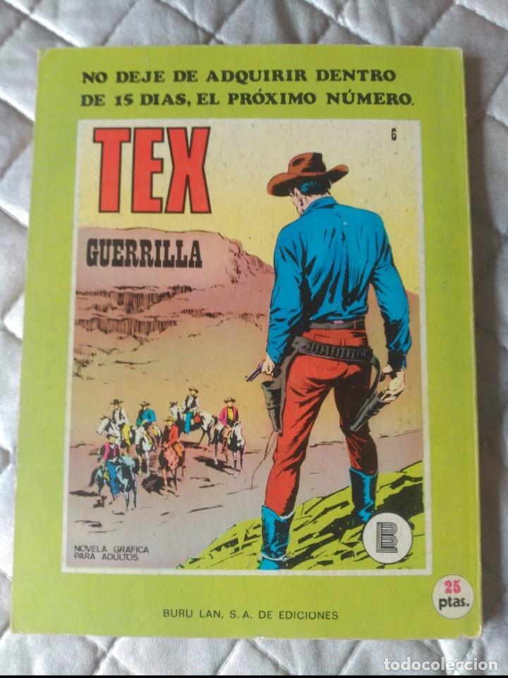 Cómics: Tex Burulan Nº 5 MUY DIFÍCIL - Foto 2 - 177006699