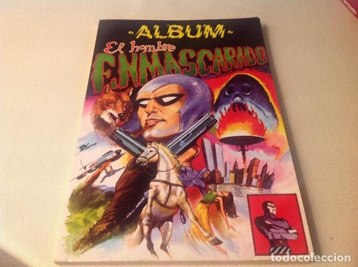 ALBUM , EL HOMBRE ENMASCARADO , TOMÓ 1 (Tebeos y Comics - Buru-Lan - Hombre Enmascarado)