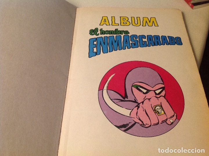 Cómics: Album , el hombre enmascarado , tomó 1 - Foto 4 - 177208625