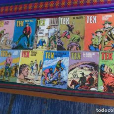 Cómics: TEX NºS 66 68 73 78 82. BURU LAN 1972. 25 PTS.. Lote 177638170